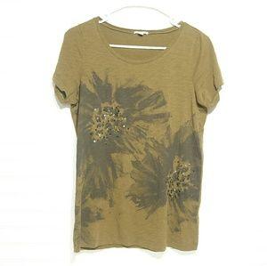 J.Crew Women's T-shirt  Medium